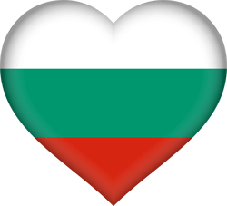 Bulgaria flag clipart - free download