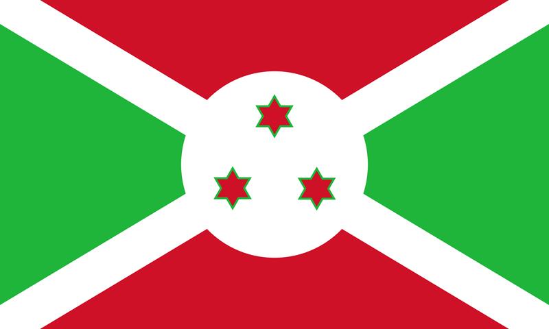 Set complet drapeau Burundi