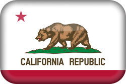 Flag of California - 3D