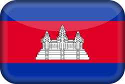 Cambodja vlag icon - gratis downloaden