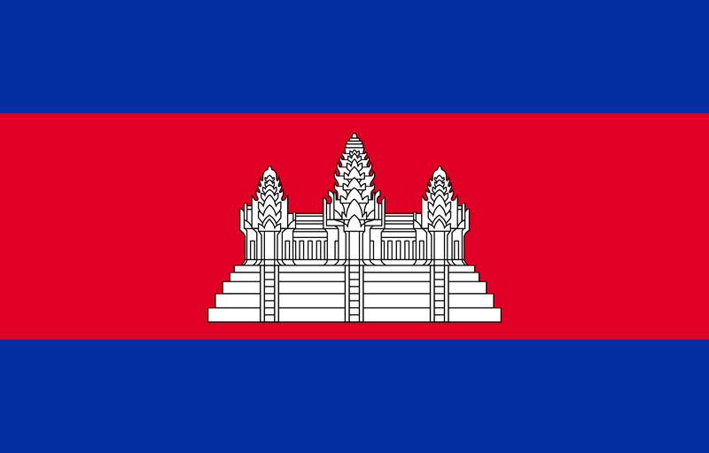 Cambodja vlag package