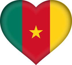 Flagge von Kamerun Icon - Gratis Download