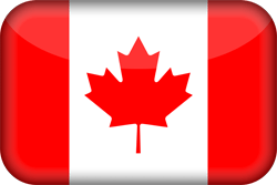 Canada vlag icon - gratis downloaden