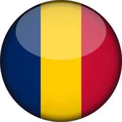 Chad flag icon - free download