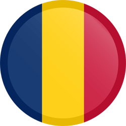 Chad flag vector - free download