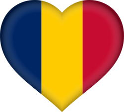 Chad flag image - free download