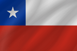Chile flag icon - free download
