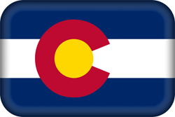 Flag of Colorado - 3D