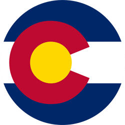Flag of Colorado - Round