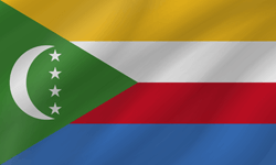 Flag of Comoros - Wave