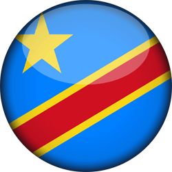 The Democratic Republic of the Congo flag vector - free download