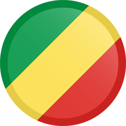 The Republic of the Congo flag icon - free download