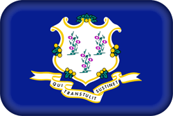 Flagge von Connecticut - Gratis Download