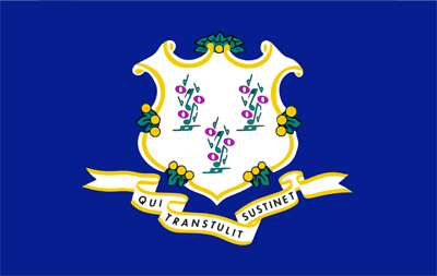 Connecticut flag icon - free download
