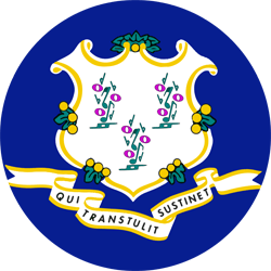 Connecticut flag emoji - free download