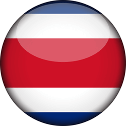Costa Rica vlag icon - gratis downloaden