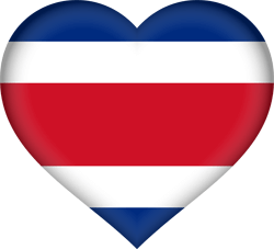 Costa Rica flag icon - free download
