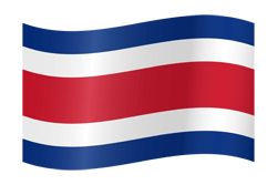 Costa Rica flag image - free download