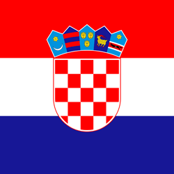 Kroatië vlag vector - gratis downloaden