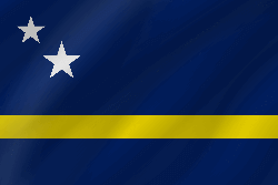 Flag of Curacao - Wave