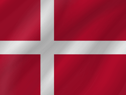 Denmark flag vector - free download