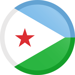 Djibouti vlag icon - gratis downloaden
