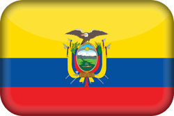 Flag of Ecuador - 3D