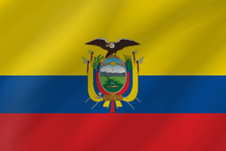 Flag of Ecuador - Wave