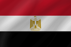 Flag of Egypt - Wave