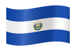 El Salvador vlag vector - gratis downloaden