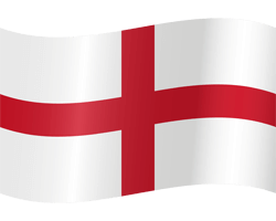 Flag of England - Waving