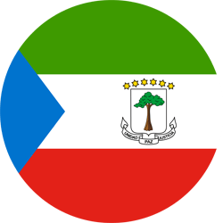 Flag of Equatorial Guinea - Round