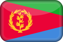 Flagge von Eritrea Icon - Gratis Download
