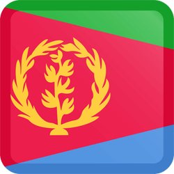 Eritrea vlag vector - gratis downloaden