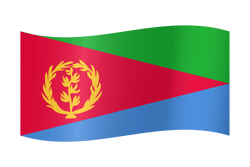 Flagge von Eritrea Bild - Gratis Download