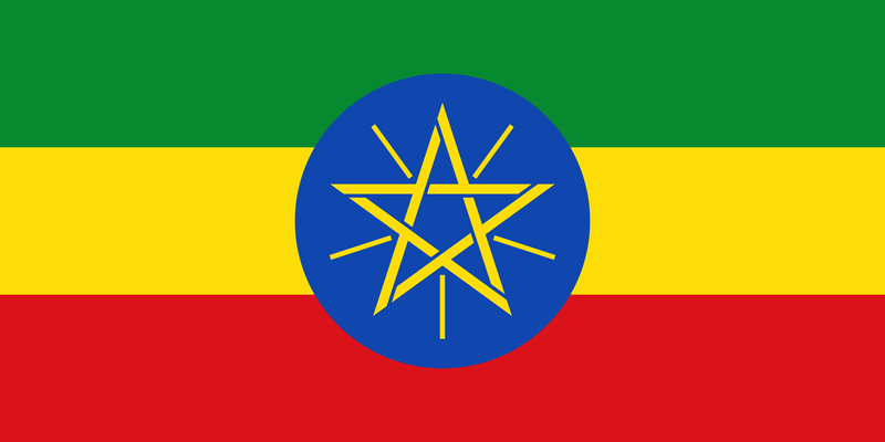 Flag Of Ethiopia Image And Meaning Ethiopian Flag Country Flags