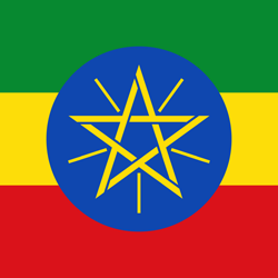 Flag of Ethiopia - Square