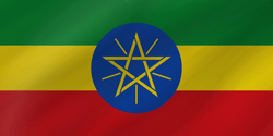 Flag of Ethiopia - Wave