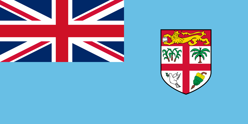 Fiji flag package