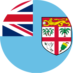 Flag of Fiji - Round