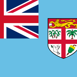 Flag of Fiji - Square
