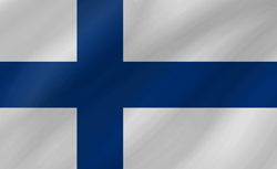 Finland vlag vector - gratis downloaden