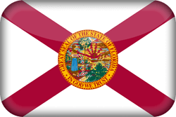 Flag of Florida - 3D