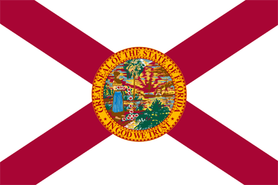 Flagge von Florida - Original