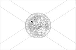 Drapeau de la Floride - A4