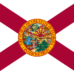 Flag of Florida - Square