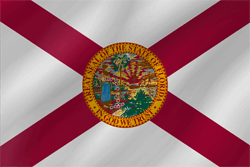 Flag of Florida - Wave