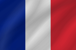 Drapeau de la France - Vague