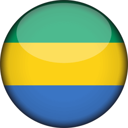 Gabon flag icon - free download