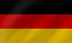 Flag of Germany - Wave